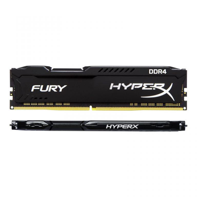 رم کامپیوتر Kingston Hyperx Fury DDR4 8GB 2400MHz