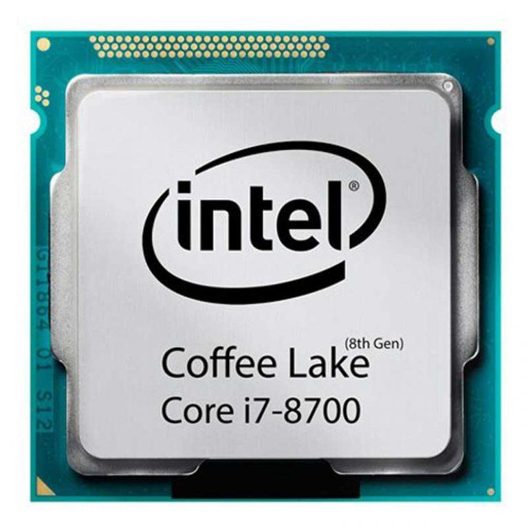 پردازنده CPU Intel Core i7-8700 3.2GHz